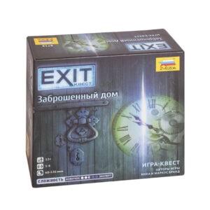 """Настольная игра """"EXIT-Квест: Заброшенный дом"""", Zvezda"""
