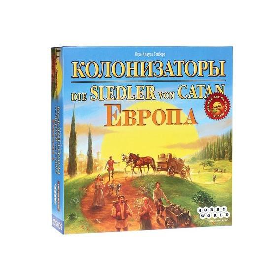 """Настольная игра """"Колонизаторы. Европа"""""""