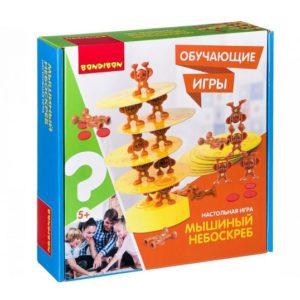 """Обучающая игра """"Мышиный небоскреб"""", Bondibon"""
