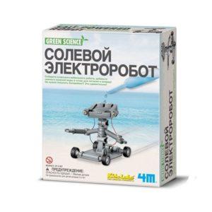 """Научный набор 4М """"Солевой электроробот"""""""