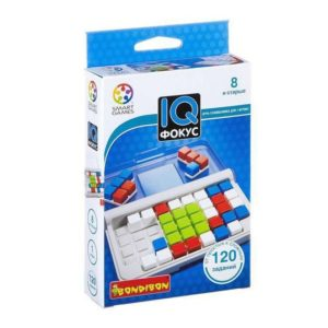 Головоломка IQ-Фокус, Bondibon (серия Smart Games)