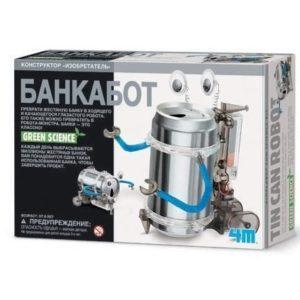 """Научный конструктор """"Банкабот"""" Green Science"""