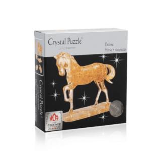 3D головоломка Лошадь золотая