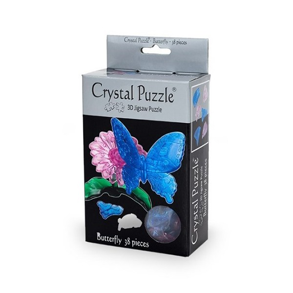3D Головоломка Бабочка голубая