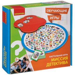 Настольная игра «МИССИЯ ДЕТЕКТИВА» Bondibon