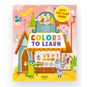 """English Books """"Colors To Learn"""", Clever"""