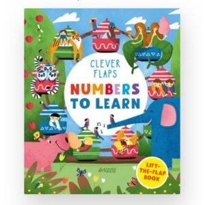 English Books. Numbers To Learn, Clever