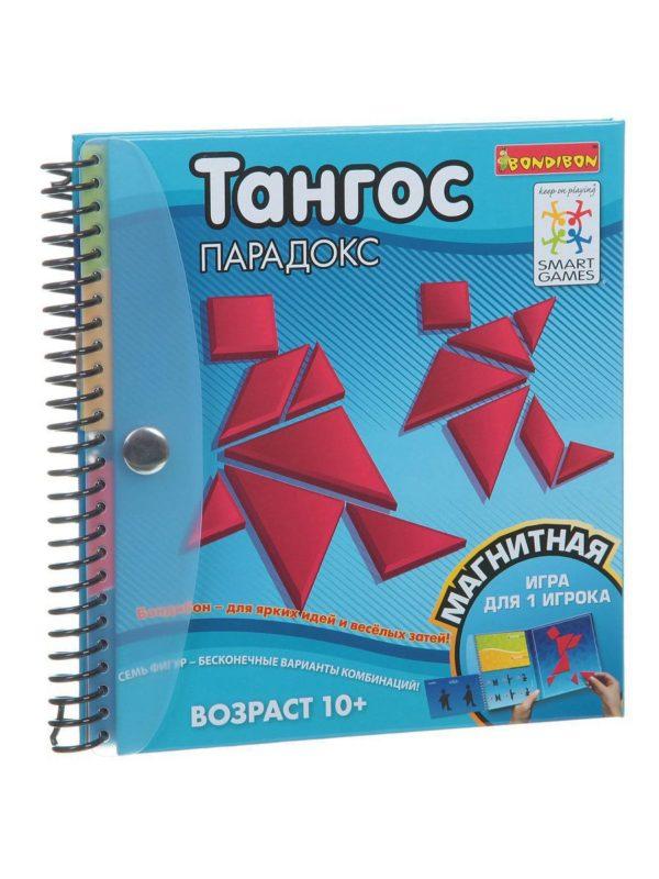 Магнитная игра BONDIBON для путешествий, ТАНГОС ПАРАДОКС