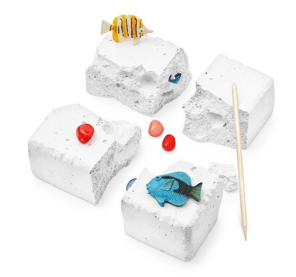 Набор для проведения раскопок «Древние рыбы»