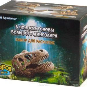 """Набор для раскопок """"В поисках головы динозавра"""""""