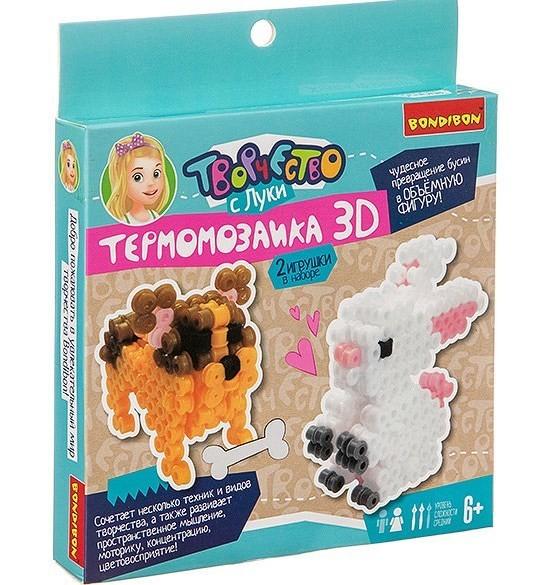 "Термомозаика 3D ""Заяц и собака"" BONDIBON"