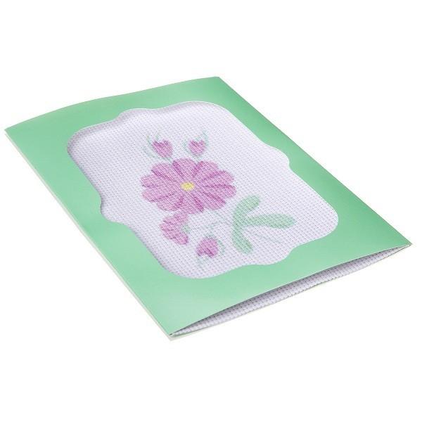 """Вышивка лентами """"Розовые цветы"""" BONDIBON"""