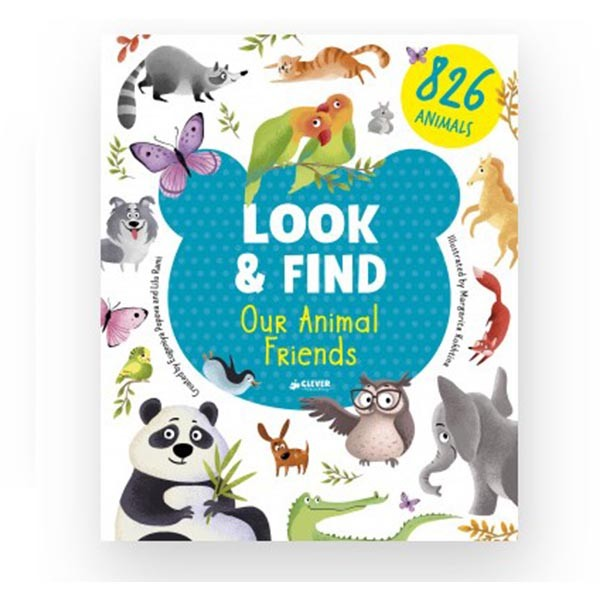 "Look & Find ""Our Animal Friends"", Clever"