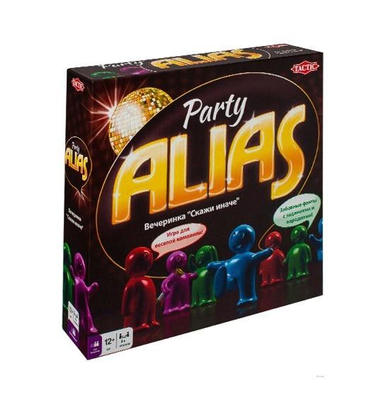 """Настольная игра Party Alias. Вечеринка """"Скажи иначе"""""""