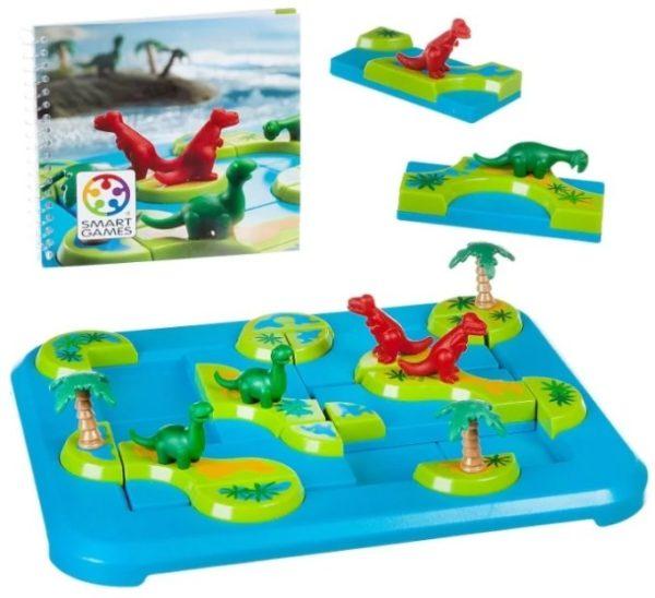 Логическая игра BONDIBON Динозавры.Таинственные острова