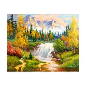 """Картина по номерам """"Осенний пейзаж"""", GX 28058"""