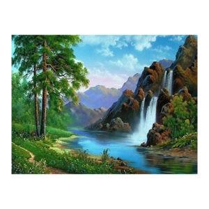 "Картина по номерам ""Горный водопад"" GX 21224"