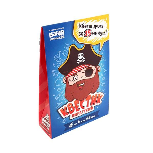 """Настольная игра """"Квестик пиратский Джек"""", Банда Умников"""
