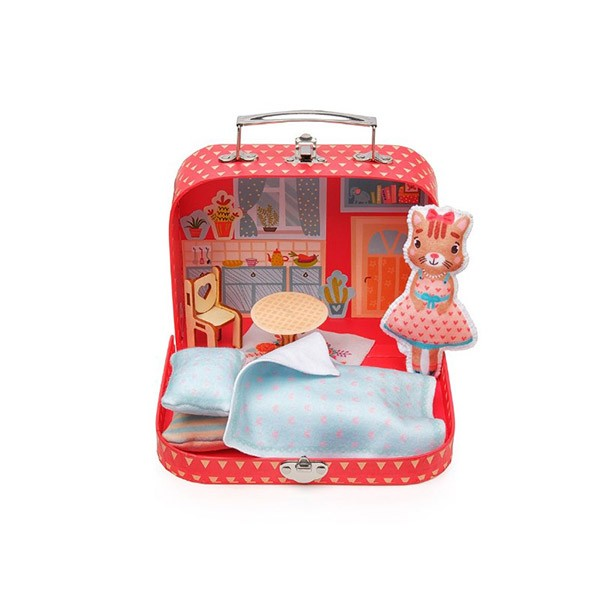Игровой набор для детского творчества «Мой уютный домик» Кошечка