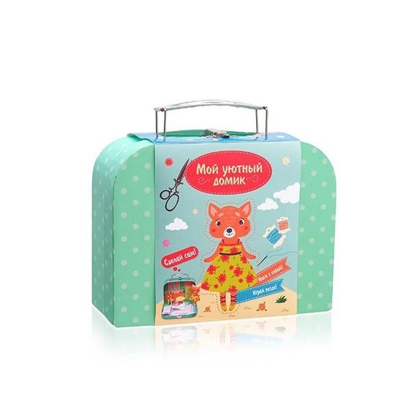 Игровой набор для детского творчества «Мой уютный домик» Лисичка