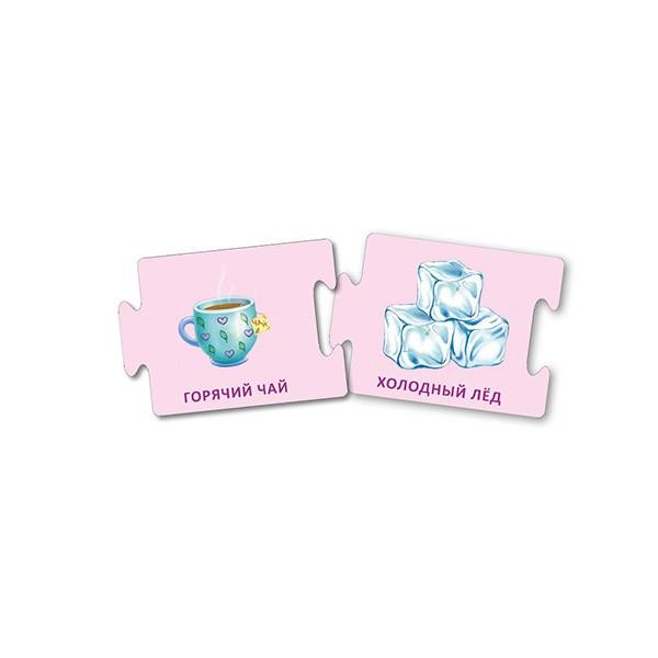 Асборн – карточки Противоположности, Робинс