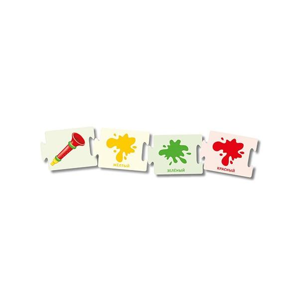 Асборн – карточки Суперрадуга, Росинс