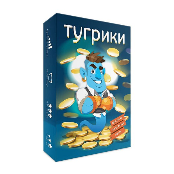 """Настольная игра """"Тугрики"""""""