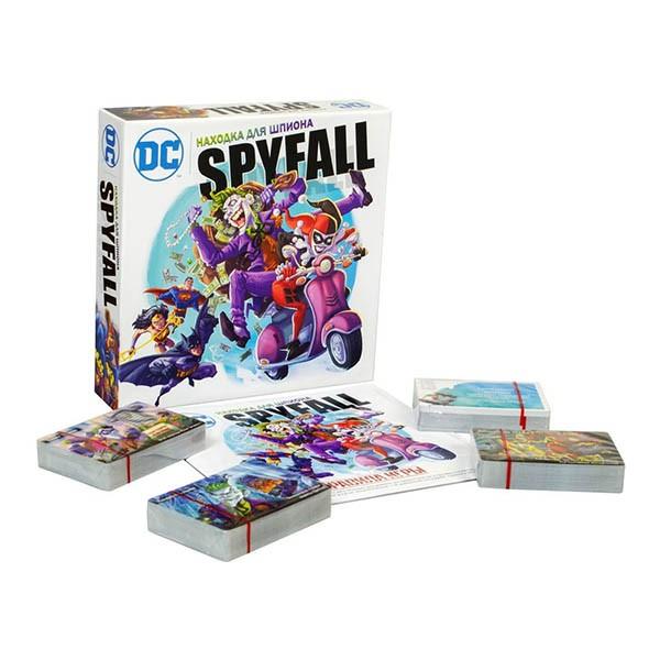 """Настольная игра """"Находка для шпиона. DC"""" (Spyfall. DC), Hobby World"""
