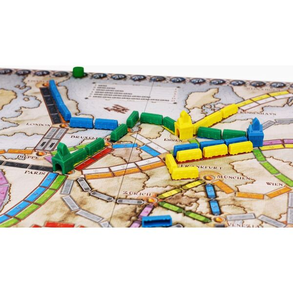 """Настольная игра """"Ticket to Ride: Europe"""" (Билет на поезд: Европа)"""