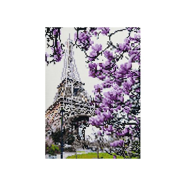 """Алмазная мозаика """"Весна в Париже"""", 30x40 см"""