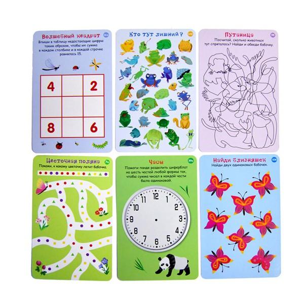 """Карточки """"100 игр на сообразительность"""", Робинс"""