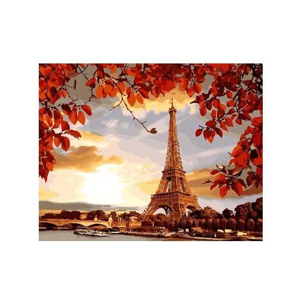 """Картина по номерам """"Осенний Париж"""", GX27354"""
