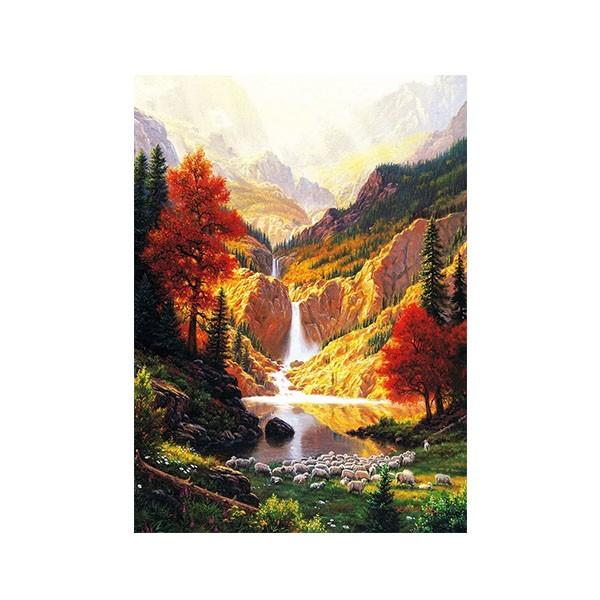 "Картина по номерам ""Горный водопад"", GX34564"
