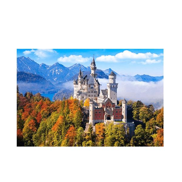 """Картина по номерам """"Горный замок в облаках"""", GX36143"""
