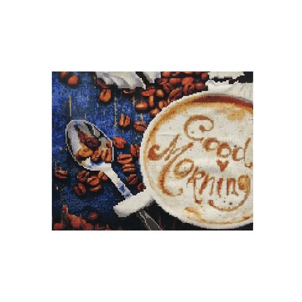 """Алмазная мозаика """"Утренний кофе"""", 40x50 см"""