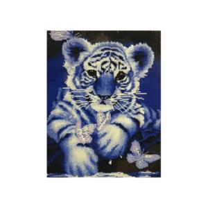 "Алмазная мозаика ""Тигренок"", 40x50 см."