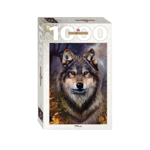 "Пазл ""Бенте Шлик. Волк"", 1000 деталей"