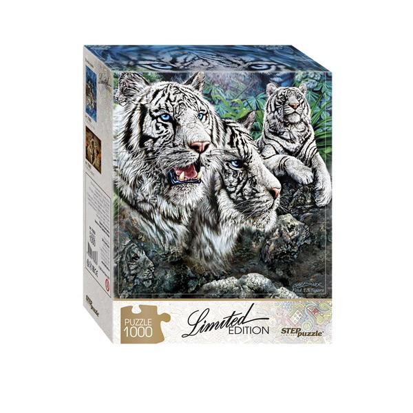 "Пазл ""Найди 13 тигров"", 1000 деталей"