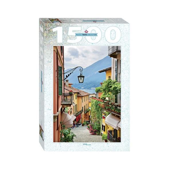 """Пазл """"Италия. Вид на озеро Комо"""", 1500 деталей"""
