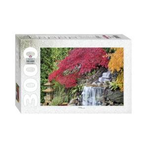 """Пазл """"Водопад в японском саду"""", 3000 деталей"""