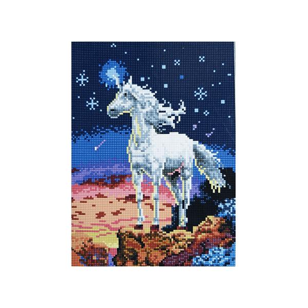 """Алмазная мозаика """"Единорог"""", 30x40 см"""