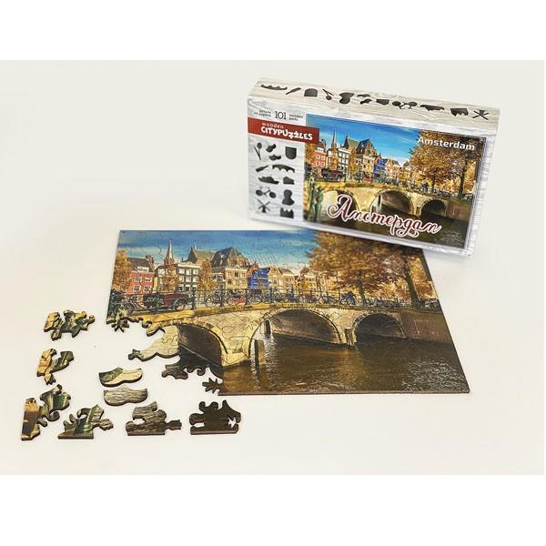 "Пазл ""Амстердам"", 101 деталь (Citypuzzles)"