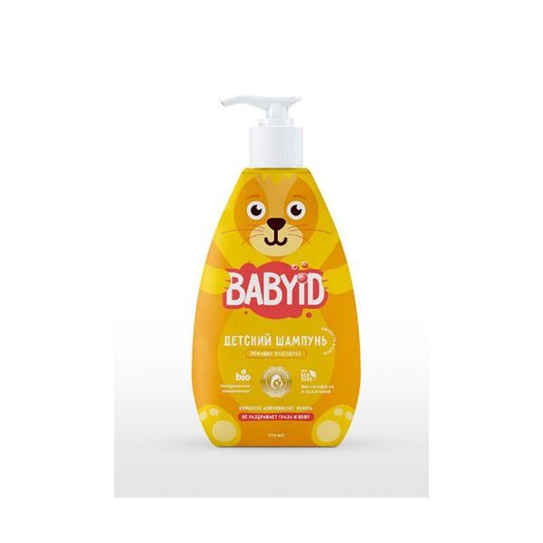 Baby ID Шампунь без сульфатов c ромашкой и календулой для детей с рождения