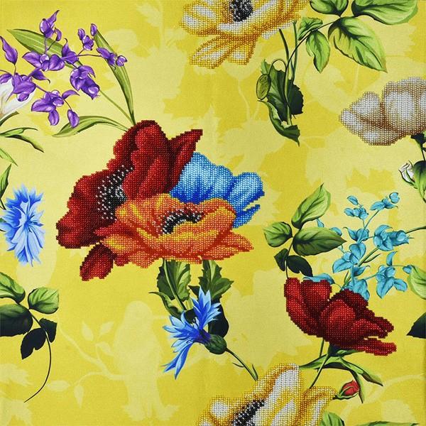 """Набор для вышивания бисером """"Желтый букет"""", Miniart Crafts"""