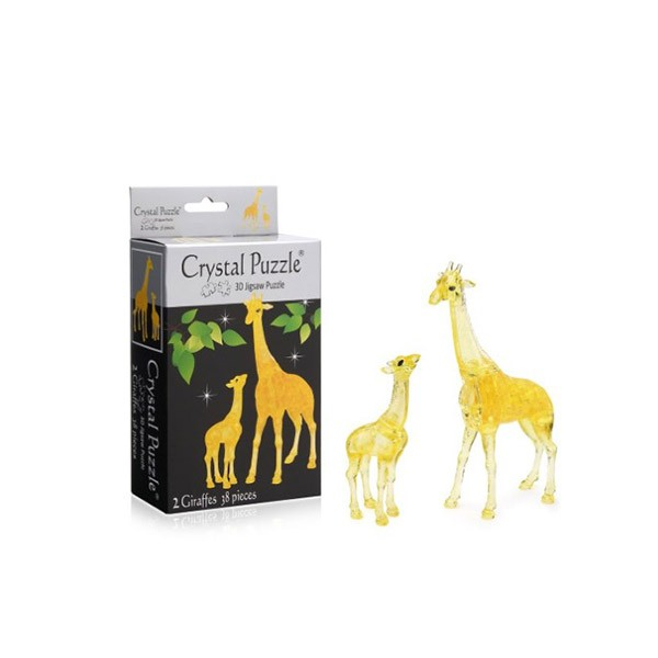 3D головоломка Два жирафа