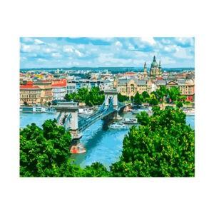 "Картина по номерам ""Мост в Будапеште"", GX28006"