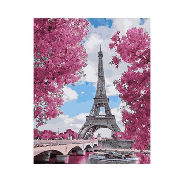 """Картина по номерам """"Магнолия в Париже"""", GX29271"""