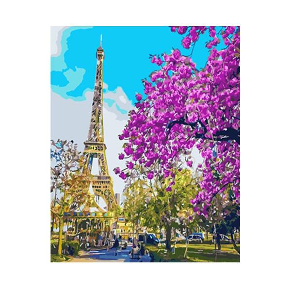 """Картина по номерам """"Весенний Париж"""", GX3777"""