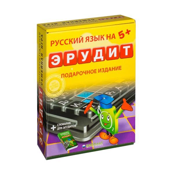 """Настольная игра """"Эрудит. Подарочное издание"""", Биплант"""