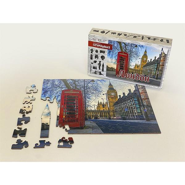 """Пазл """"Лондон"""", 101 деталь (Citypuzzles)"""